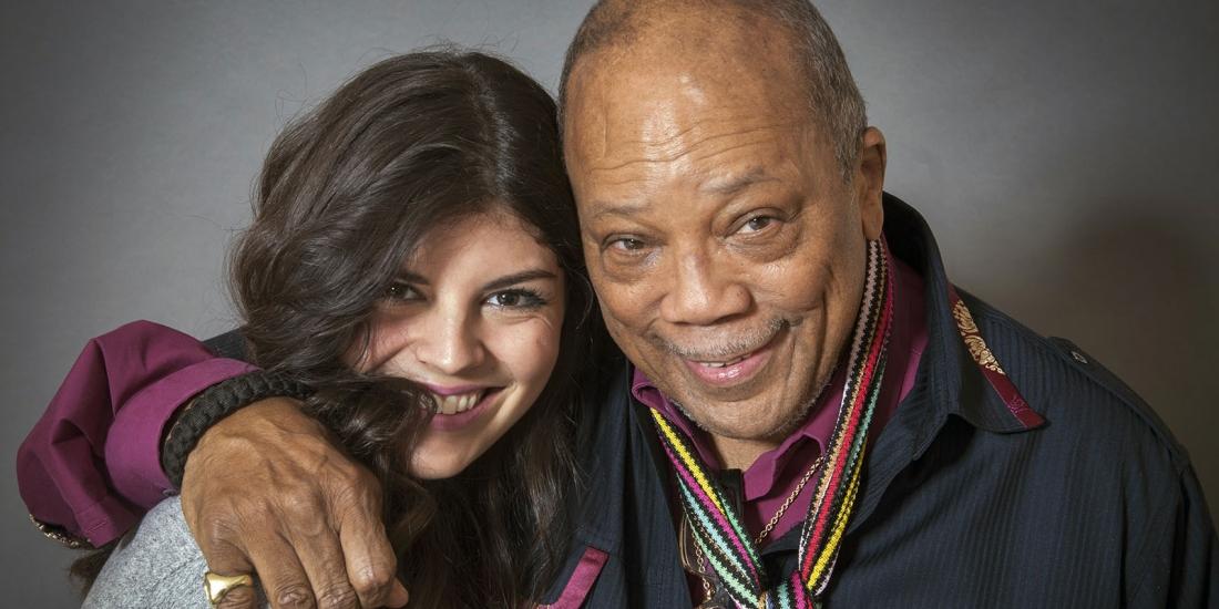 Quincy Jones and Nikki Yanofsky at the Ritz Carleton in Toronto